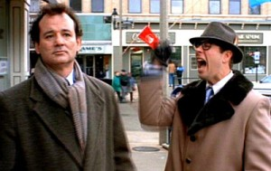 Ned Ryerson (Stephen Tobolowsky) in Groundhog Day. Columbia-TriStar