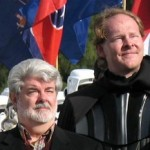 Mark Fordham (Vader) and George Lucas