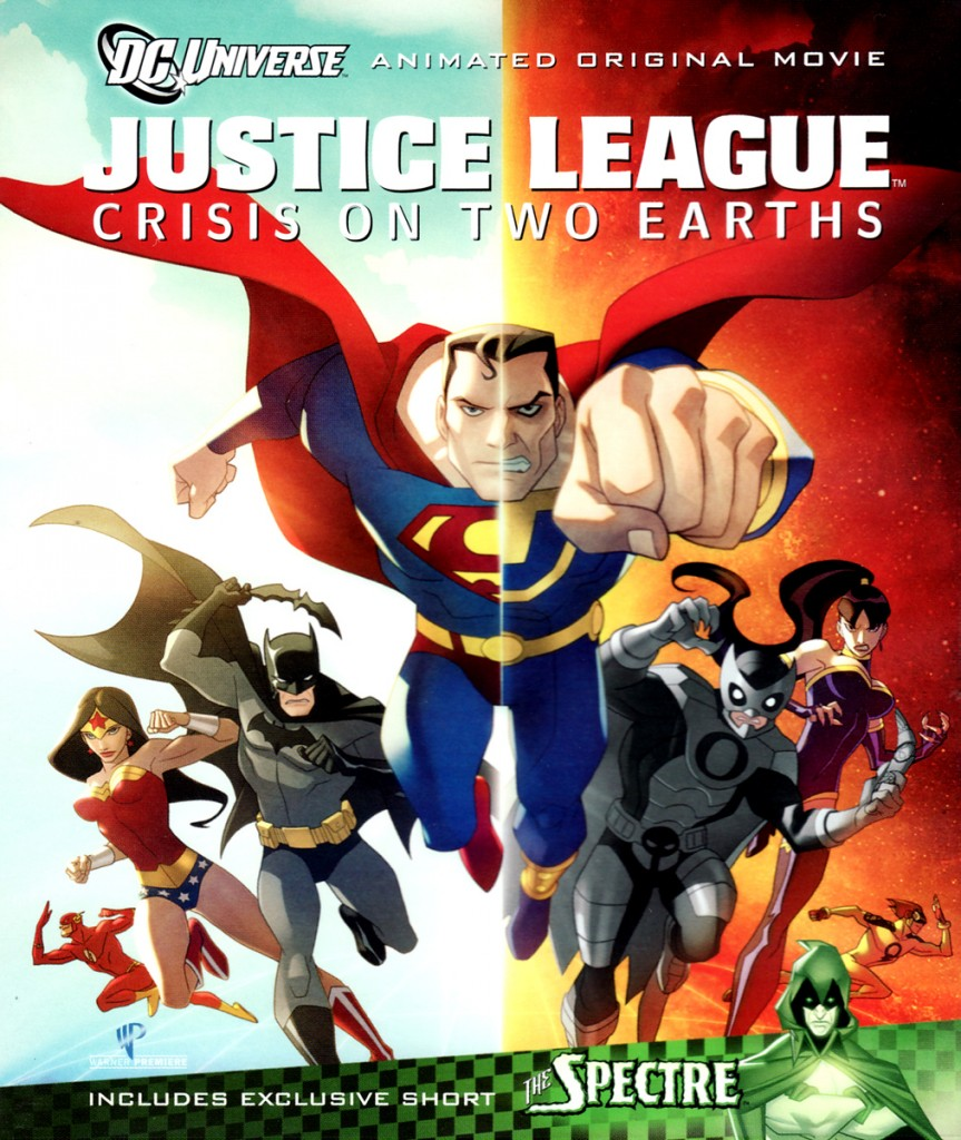 Justice League: Crisis on Two Earths DVD cover