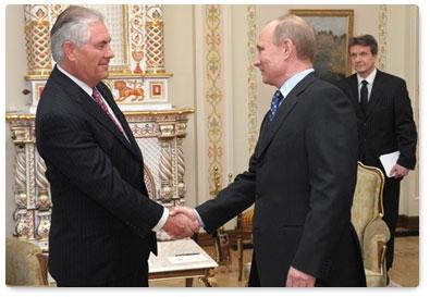 Tillerson & Putin