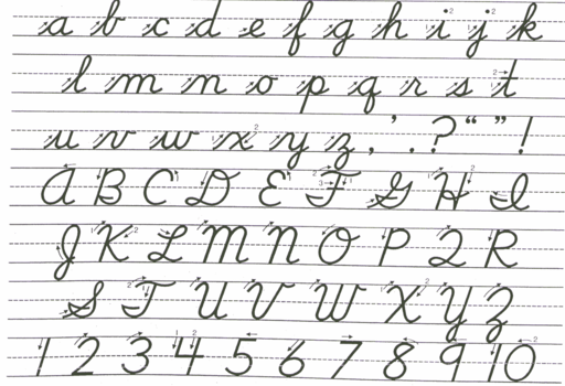 The return of cursive writing | Gene Veith