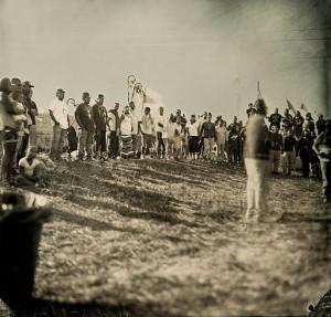Dakota_Access_Pipeline_-Elder_Addressing_Crowd-