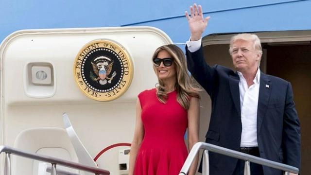 Trump's trip