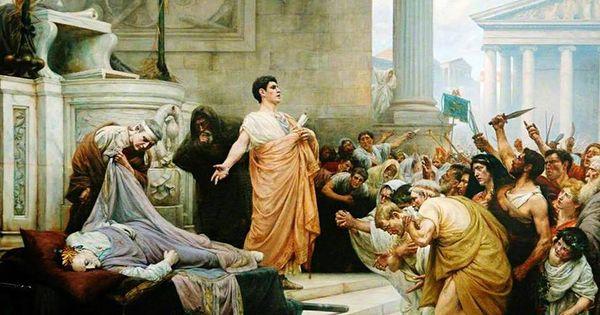 Antony's funeral oration