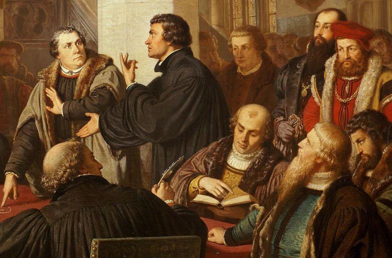 Religionsgespräch_zu_Marburg_1529_Detail_Luther_Zwingli_August_Noack