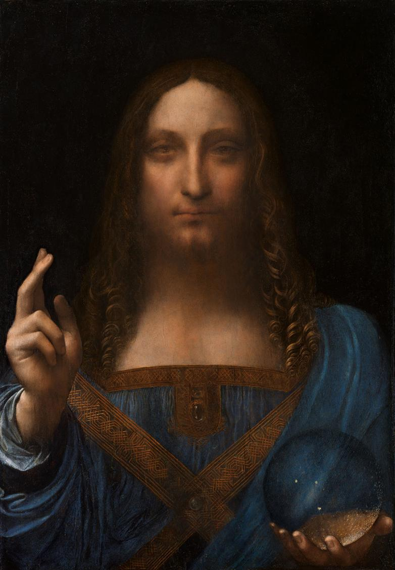 "Salvator Mundi Leonardo Da Vinci >> The New Da Vinci: ""The Savior of the World"""