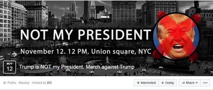 People are genuinely scared for their futures! Racism won, Ignorance won, Sexual assault won! STOP TRUMP! STOP RACISM! JOIN THE PROTEST at Union Sq., Saturday 12 p.m. Bring signs, snacks, water! [Russia Facebook Ad]