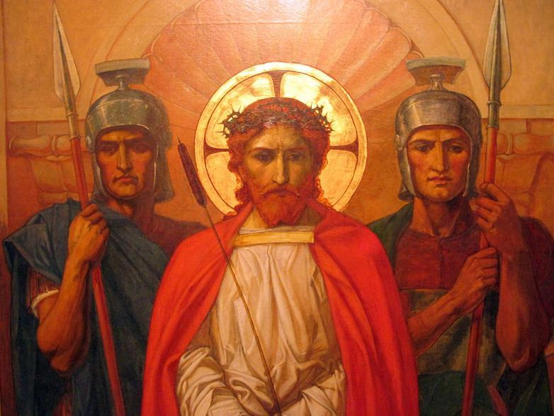 1024px-Henry_Thomas_Bosdet_painting_of_Jesus_before_his_crucifixion_2