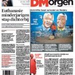 Child euthanasia in the European press