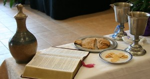 Eucharist Bread and Wine