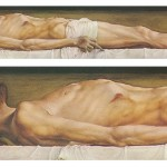 The Body of the Dead Christ in the Tomb by Holbein (Click to enlarge)