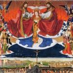 The Trinity: Coronation of the Virgin, altar of the Charterhouse of Villeneuve-lès-Avignon.
