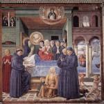 Benozzo Gozzoli: Death of St. Monica