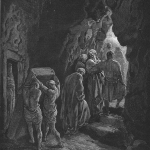"Dore used just about the only method of burial NOT practiced by the Israelites for his ""Burial of Sarah"""
