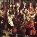 "Gerard David, ""The Marriage at Cana"""