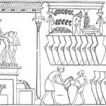 Egyptian wine press