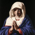 Madonna in Prayer by Sassoferrato, c1640-50