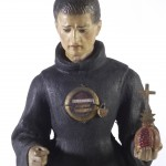 L0035668 Spanish reliquary statue of Saint John of God