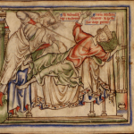 St. Edmund kills Sweyn Forkbeard