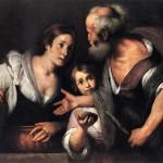 Strozzi: Prophet Elijah and the Widow of Sarepta