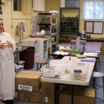 Where the magic happens: the nuns make soaps and other things here.