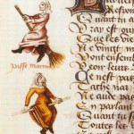 The Earliest Known Depiction of Witches On Brooms, and What It Tells Us About Evil