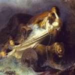 Rembrandt, Rape of Prosperina