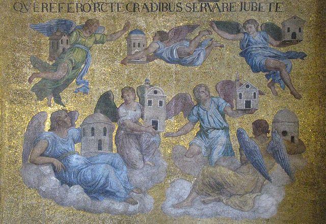 Mosaic of Seven Angels