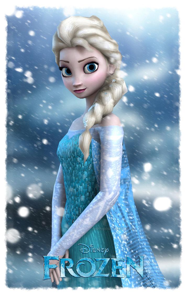 Elsa blue and frozen power voltagebd Choice Image