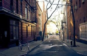Vacant Urban Street