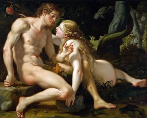 Adam-and-eve-by-Antonio-Molinari-1701-1704