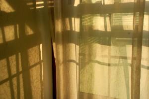 Morning light curtains