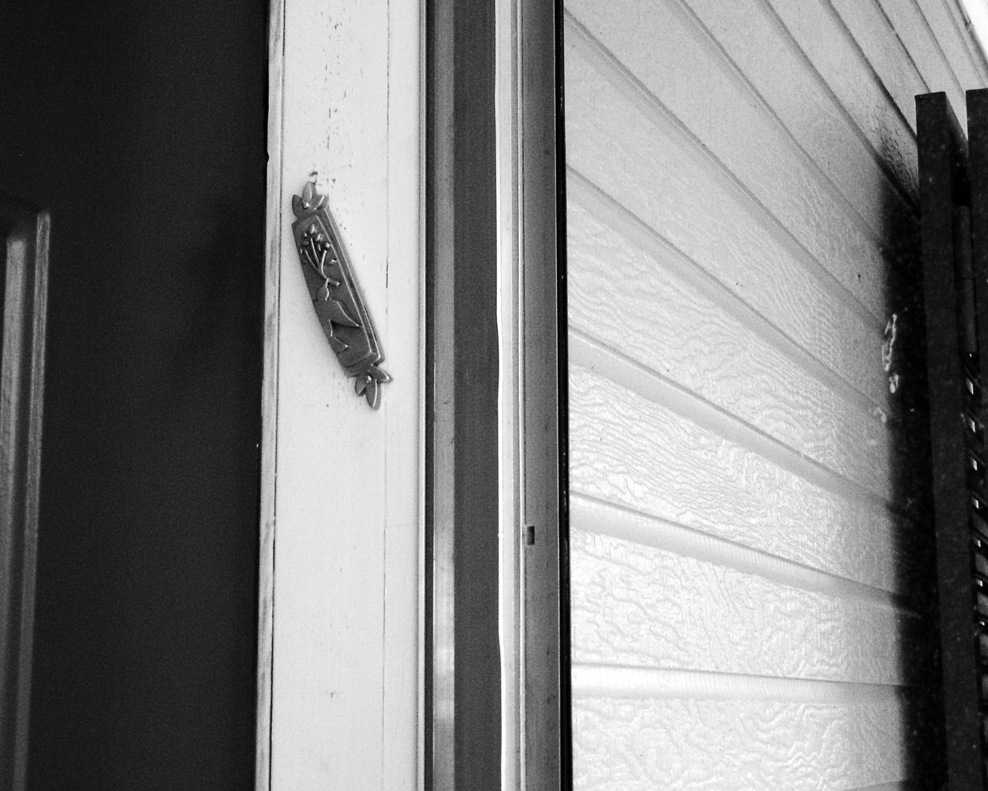Love Nailed to the Doorpost
