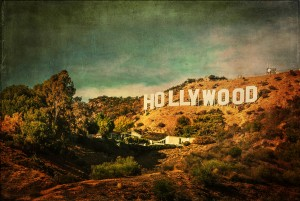 Hollywood Sign (Vintage) by Mark Fugarino on Flickr