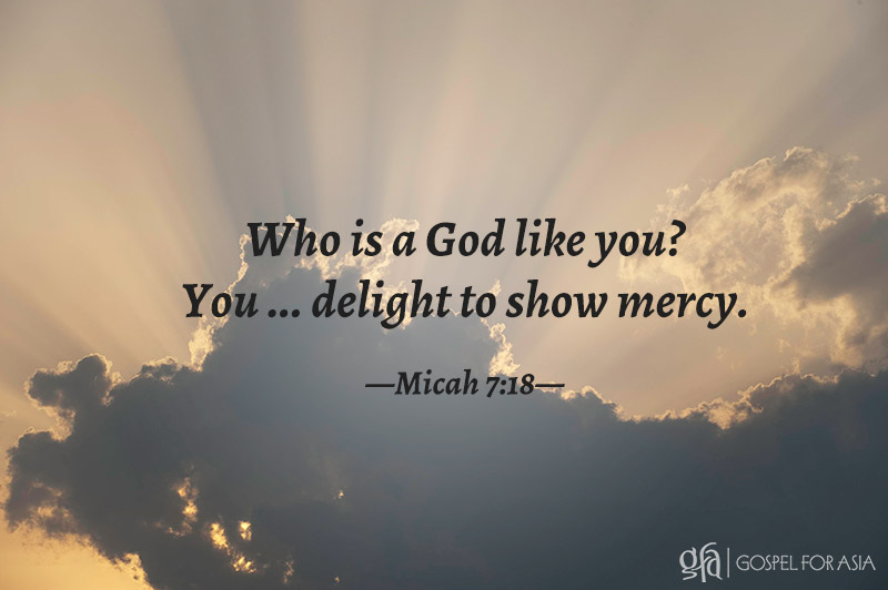 Micah 17:18 - KP Yohannan - Gospel for Asia