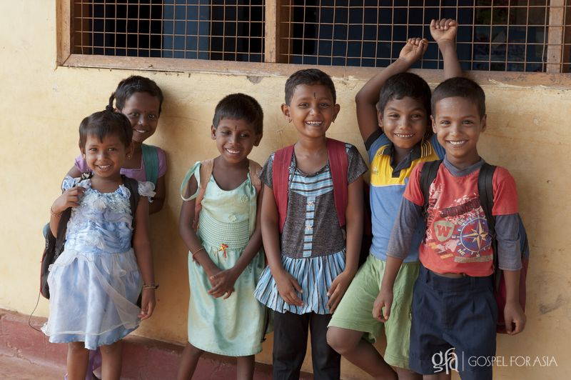 Children provided hope - KP Yohannan - Gospel for Asia
