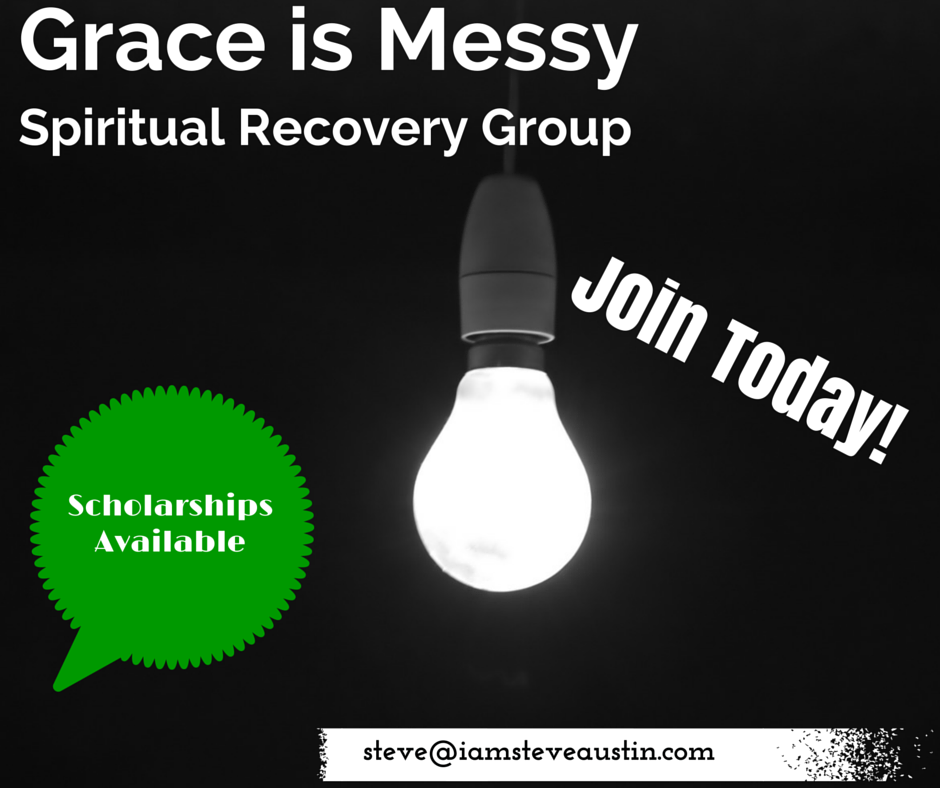 Join the Grace is Messy Spiritual Recovery Group today! Scholarships are available!
