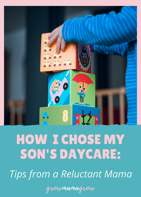How I Chose My Son's Daycare: Tips from a Reluctant Mama