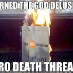 Burned the God Delusion