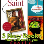 3 New Books That Will Make You Smile: Saint, Tweet Inspiration, & a.k.a Genius