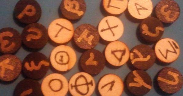 Divination - The Greek Alphabet Oracle