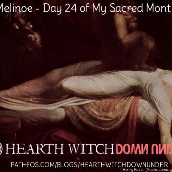 Melinoe Ritual - Day 24 of My Sacred Month