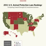 "Year-End Study Names 2011's ""Five Best States to be an Animal Abuser"" (Where does your state rank?)"