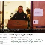 State police raid Wyoming County, NY SPCA following charges of animal abuse