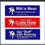 You can get your own bumper sticker at DogsAgainstRomney.com