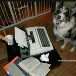 Yup, my dog has a blog.