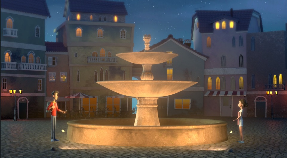 "Scene from the award-winning animated short, ""The Wishgranter"". Scroll down to see the entire film."