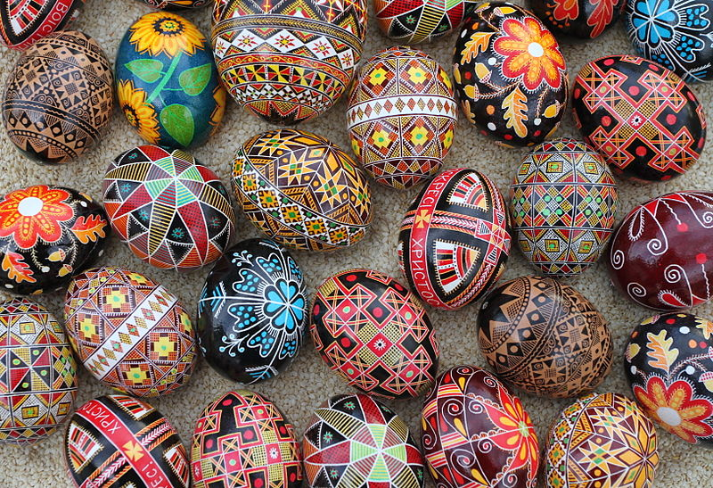 Do you know what easter eggs have to do with lent traditional ukrainian pysanky easter eggs photo credit luba petrusha wikimedia negle Image collections