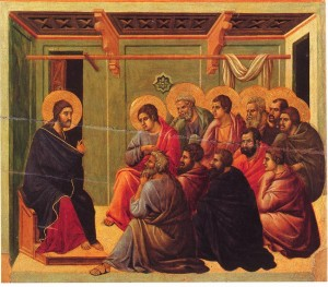 Christ by Duccio [Public domain], via Wikimedia Commons