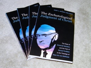 The Eschatological Judgment of Christ. Photo of book by Henry Karlson